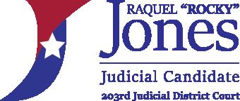 "Raquel ""Rocky"" Jones for Judge"